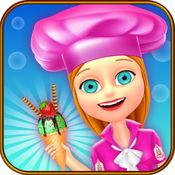 冰激淋发烧烹饪的女孩游戏