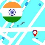 印度离线地图