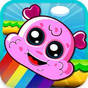 冰淇淋高炉 - 彩虹跳转嘉年华玩转免费儿童游戏