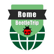 罗马旅游指南地铁意大利甲虫离线地图 Rome travel guide and offline city map, BeetleTrip metro train trip advisor