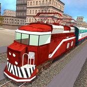美国模拟火车...