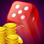 一个骰子赌场表骰子游戏