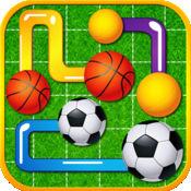 AAA级Gameball连接益智游戏
