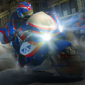 摩托车 赛车 游...