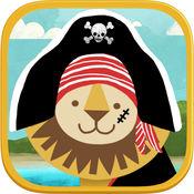 海盗学龄前拼图