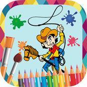 海盗画 - 图画书绘制和油漆的骑士,海盗,牛仔图片和幻想印度人