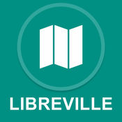 利伯维尔,加蓬 : 离线GPS导航 1