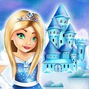 冰公主娃娃屋设计:女孩游戏