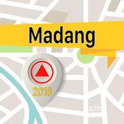 Madang 离线地图导航和指南 1