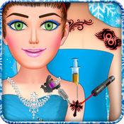 冰公主纹身设计师化妆沙龙