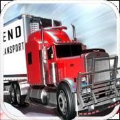 冰路上的卡车超速