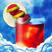 冰雪泥泞的果汁生产商的狂热亲 - 清凉饮料冰沙制作游戏