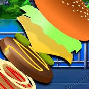 Topple - 汉堡包