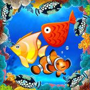 鱼比赛 - 学校和幼儿园学习游戏为孩子和幼儿