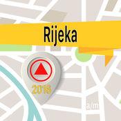 Rijeka 离线地图导航和指南 1
