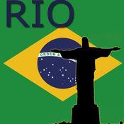在里约热内卢地图