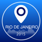 里约热内卢离线地图+城市指南导航,旅游和运输