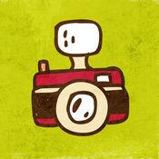 手写摄像头 - 以素描/绘画风格的照片!