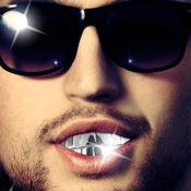 牙齿珠宝 – 使照片看起来像黑帮