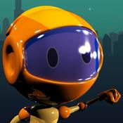 机器人jetpack的赛车亲 - 真棒空中跳跃比赛