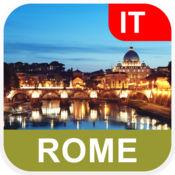 罗马,意大利 离线地图 - PLACE STARS