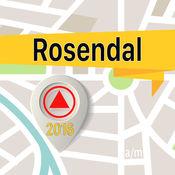 Rosendal 离线地图导航和指南
