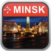 离线地图 明斯克,白俄罗斯