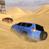 豪华 LX 普拉多沙漠驾驶-驱动程序模拟器