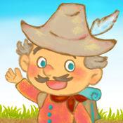 「北風と太陽」親子でさわって面白い子供向け絵本アプリ 2