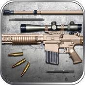 狙击猎杀: M110狙击步枪 武器模拟器之拆分与拼装 枪战游戏