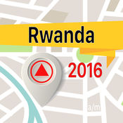 卢旺达 离线地图导航和指南 1