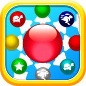 彩色球水龙头游戏