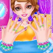 漂亮的美甲沙龙 化妆游戏 好玩的游戏的女孩 1.1