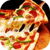 意大利比萨饼派送:烹饪食物餐厅