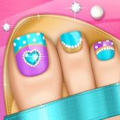 美甲游戏:公主沙龙时尚美甲设计和修脚