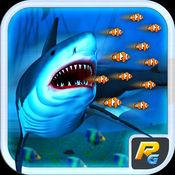疯狂的鲨鱼袭击3D模拟器