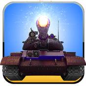 疯狂的坦克指挥官 - 完整的坦克战争游戏对孩子和成人