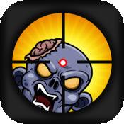 疯狂的僵尸狙击手 - 射击邪恶的植物 FREE