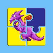 魔术龙拼图为孩子们