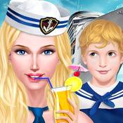 假日游艇大派对 - 女生时尚化妆换装游戏