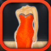 女孩 连衣裙 照片 剪辑 - 虚拟 图片工作室 同 美丽礼服 对
