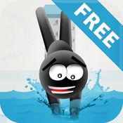 Stickman High Diving FREE — 轻触,跳跃和空翻! 2