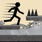 火柴人跳 - 免费上瘾的极限乐趣涂鸦亚军和跳线游戏 1