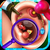 耳外科医生 - 外科医生很少儿童游戏