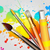 绘画桌 - 绘画,上色,涂鸦,素描