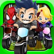 自行车 英雄摩托车赛 乘坐 Stunt Bike Rider