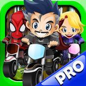 英雄特技自行车汽车男爵赛车游戏 Stunt Bike Ride Pro