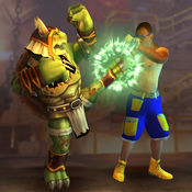 街头战斗真正的战士战斗3D:街机战斗 1