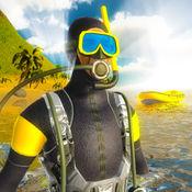 水肺潜水深海游泳模拟器