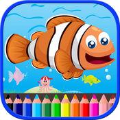 海洋动物彩图为孩子